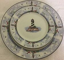 Light House Design 3pc Place Setting Service for 1 Lighthouse