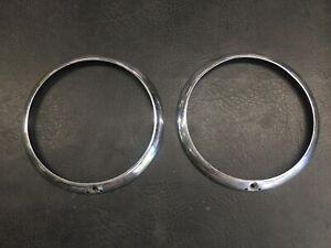 AirCooled Karmann Ghia Headlight Rings  65-74  #39