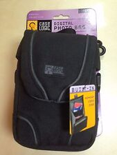 CASELOGIC DCB4 BLACK DIGITAL PHOTO BAG CAMERA CASE W/ Built-In Memory card case