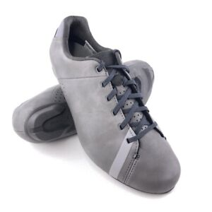 Shimano RT4 Cycling Shoes EUR 41 Mens Size 7.6 Gray Leather SPD 2-Bolt $120