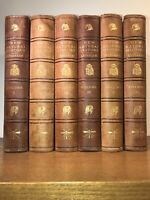 LEATHER Set;ENCYCLOPEDIA MASSIVE LIBRARY OF NATURAL HISTORY! plates. Enormous