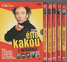 Elie Kakou - Coffret 5 DVD Spectacles - L'intégrale (4 DVD Neuf)