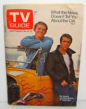 Collectible TV Guide Magazine Happy Days Television Show 6-10-1976