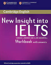 CAMBRIDGE New Insight Into IELTS WORKBOOK with Answers I Jakeman McDowell @NEW@