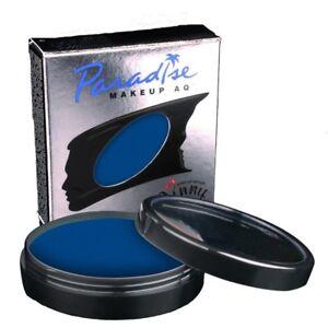 Mehron Paradise Dark Blue Face Body Paint Professional Size 1.4oz Smurfs Vegan