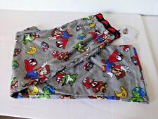 Super Mario Bros boys lounge pajama pants size L 10/12