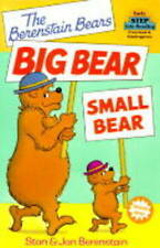 NEW The Berenstain Bears' Big Bear, Small Bear (Step-Into-Reading, Step 1)