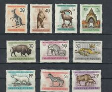 TIMBRES magyar posta hongrie 1961 neufs * animaux zoo