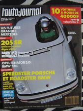 revue 1987 RENAULT 4 SAVANE / BMW 730i + M3 / OPEL SENATOR / AUTO-JOURNAL