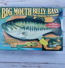 Big Mouth Billy Bass The Singing Sensation Fish 1998 Motion