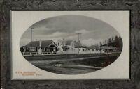 Burlington WA Homes c1910 Postcard