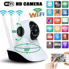 1080P WiFi IP Camera Home Security CCTV Baby Monitor Night Vision Motion Cam P/T