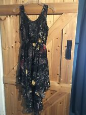 "Glamorous Sexy Firework Dress Size 8 Net Dress With Space Firework Pattern 32"""