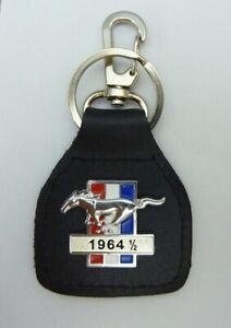 1964 1/2  Mustang Real Leather Keyring / Keyfob