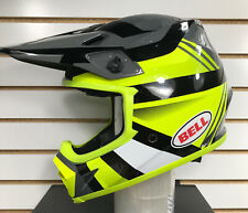 Bell MX-9 MIPS Marauder Off-Road Motorcycle Helmet Hi-Viz Yellow/Black Medium