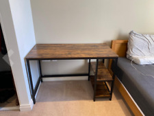 Table for Office Living Room Bedroom, Industrial Writing Desk for Study,