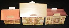 Paper Model Small Village 8 Pieces