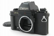 [Excellent++++] Canon New F-1 Black 35mm SLR Camera AE Finder from japan #B75