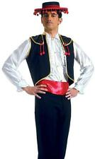 Toreador Waistcoat and Sash Instant Spanish Bull Fighter Fancy Dress Costume 301