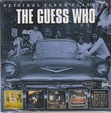 Guess Who / Canned Wheat, American Woman, Share the Land u.a. (5 CDs,OVP)