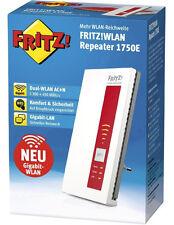 AVM FRITZ! WLAN Repeater Verstärker 1750E W-LAN 1750 MBit/s 2.4 + 5 GHz NEU OVP