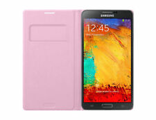 Samsung Galaxy Note 3 Flip Card Pocket Wallet Lightweight Cover Case Pink