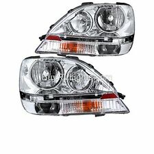 Coachmen Pathfinder 2012 2013 Pair Chrome Headlights Head Lights Front Lamps Rv