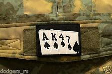 AK47 Playing Cards Russian Tactical army morale military patch