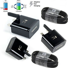 100%25 GENUINE SAMSUNG MAINS WALL USB CHARGER PLUG FOR GALAXY TAB-3 7.1