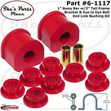 "Prothane 6-1117 (1"") Sway Bar&Eye Bolt-Eye Bolt End Link Bushing Kit-Frt or RR"