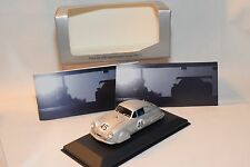 . MINICHAMPS PORSCHE 356 LEICHTMETALL COUPE 1951 METALLIC GREY MINT BOXED