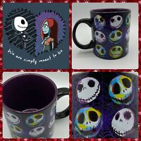 Disney Nightmare Before Christmas 20 oz Mug Purple Coffee Cup Jack Skellington