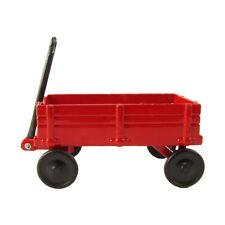 1:12 Scale Model Red Wagon Miniature Dollhouse Accessory Metal Pencil Sharpener