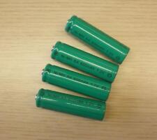 4 Stück AKKU für Solar Lampe aufladbare Batterie Ni-MH, Typ: AA 1,2 Volt, 600mAh