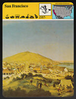 SAN FRANCISCO California Early View Artwork 1980 STORY OF AMERICA CARD #55-16