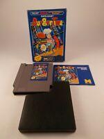 BurgerTime Complete CIB Nintendo Entertainment System NES Burger Time