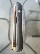Vintage Stratford pool stick /Cue  with Case 16.8 oz pre owned condition E2