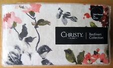 CHRISTY Oxford Pillowcase PAIR Cotton CARLOTTA CORAL