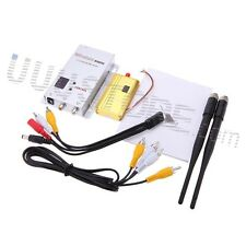 1.2G 1500mW Wireless CCTV Transmitter and 12Ch Receiver Professional Kit for FPV