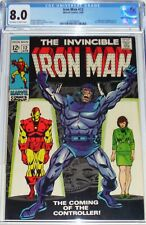Iron Man #12 CGC 8.0 from April 1969 Origin & 1st appearance of the Controller