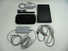 Used Nintendo Wii U Deluxe 32GB Black Handheld System Original Box
