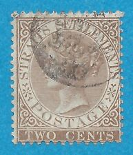 Straits Settlements 10  Used  Victoria