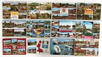 12 x Bad NAUHEIM in Hessen Postkarten Lot Mehrbildkarten frankiert ab ~ 1960