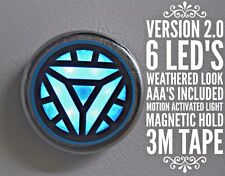 Iron Man Arc Reactor LED Perfect Chest Light Prop Replica