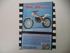 advertising Pubblicità 1987 MOTO FANTIC TRIAL 303 PROFESSIONAL