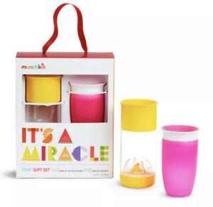 Munchkin It's a Miracle Gift Set Pink/Yellow