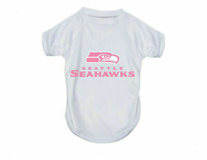 NEW! SEATTLE SEAHAWKS DOG CAT PINK PERFORMANCE T-SHIRT ACTIVE TEE CHOOSE SIZE