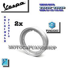 x 2 CERCHIO RUOTA 3.00-10 ORIGINALE PIAGGIO PNEUMATICO VESPA 50 SPECIAL PK XL HP