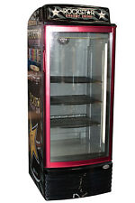 IDW G-8 Glass Door Display Refrigerator Merchandiser w/ Rockstar Energy Graphics