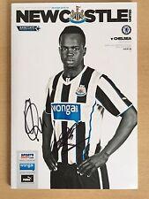Newcastle United Programme Signed By Loic Remy & Yoan Gouffran